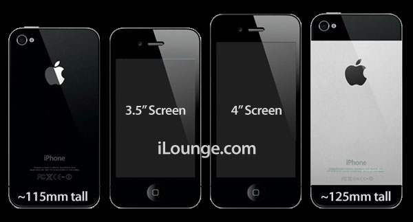 Iphone 5 To Feature 4 Inch Screen With New Aspect Ratio And Metallic Back Edible Apple