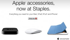 staples apple