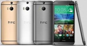 HTC m8 smartphone